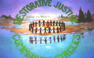 Restorative justice as a healing circle