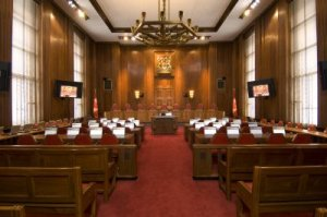 Main courtroom, Supreme Court of Canada