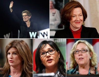 Source: Most powerful women in Canadian politics, lfpress