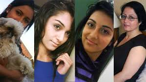 Images of the murdered women in the Shafia case
