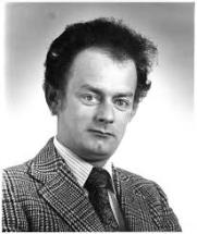 Portrait of Rex Murphy, student activist