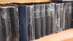 old Moravian books from the missions, that date back centuries in Labrador