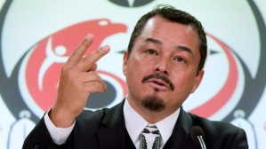 Former Chief of the Assembly of First Nations Shawn Atleo. Atleo was forced to resign due to pressures surrounding his support of Bill C-33