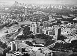 The original development of Thorncliffe Park