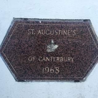 Corner Stone of St. Augustine's